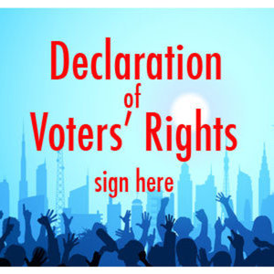 declaration of voters rights