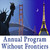 Annual Program Without Frontiers