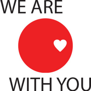 Profile picture for We Are With You Japan