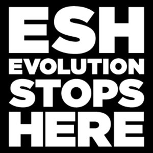 Profile picture for evolution stops here
