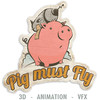 Pig Must Fly CG Studio