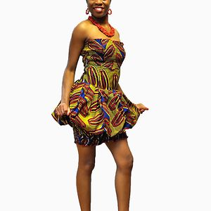 African & Ethnic - Adorable wedding dresses and gowns for brides