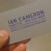 Ian Cameron