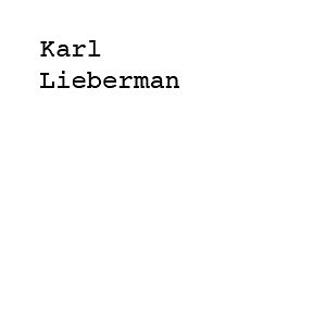 Profile picture for Karl Lieberman