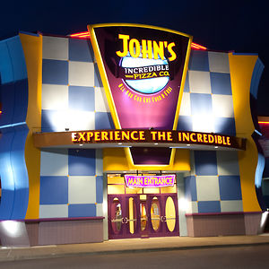 photograph regarding John Incredible Pizza Coupons Printable referred to as Discount coupons john extraordinary pizza co : Experience island rohini