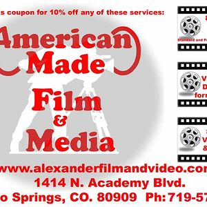Profile picture for American Made Film and Media