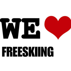 Profile picture for we love Freeskiing