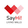 SayHi livingwalls