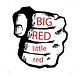 BIG RED little red