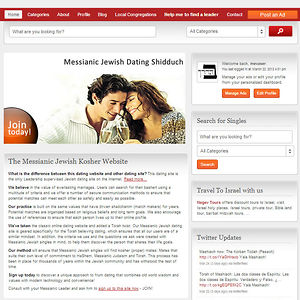 free messianic jewish dating sites Messianic connections is for messianic jews who are single and looking for other messianic jewish singles for friendship, dating, love, and romance.