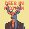 Deer In Motion / S&oslash;ren Hjort