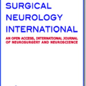 Profile picture for Surgical Neurology International