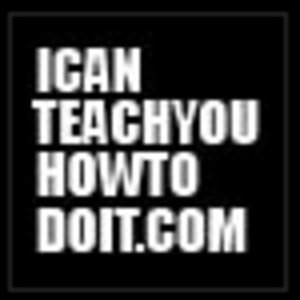 Profile picture for icanteachyouhowtodoit