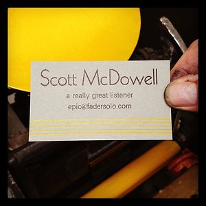 Profile picture for Scott McDowell