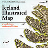 Iceland Illustrated Map