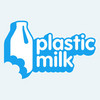 plastic milk