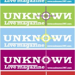 Profile picture for UNKNOWN Live magazine