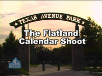 The Flatland Calendar Shoot
