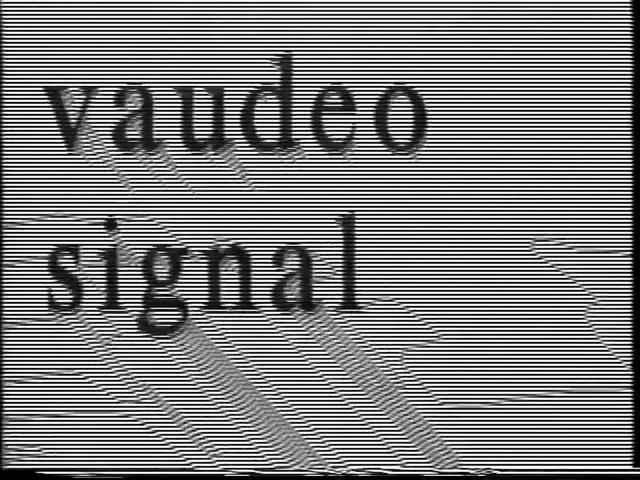 Vaudeo Signal Opening Title