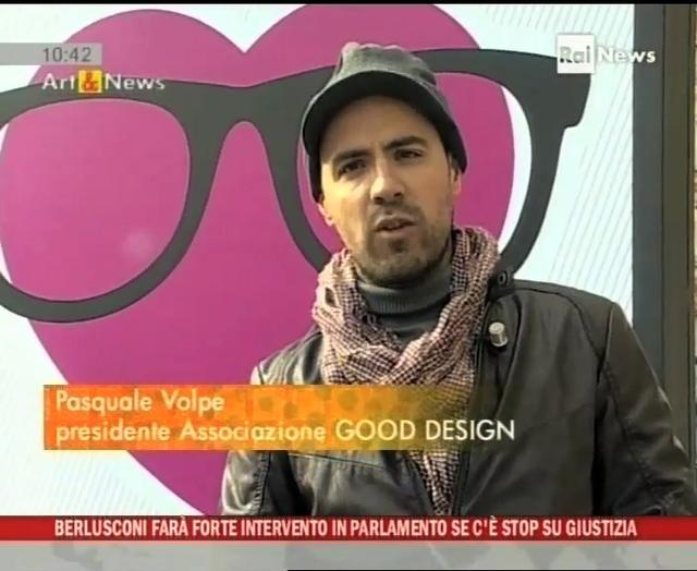 Good50x70 on RAI NEWS - Art & News - 30 ottobre 2010