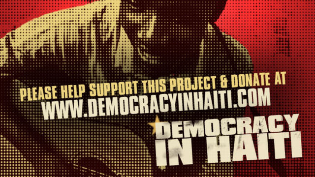 Fundraising Trailer: Democracy in Haiti