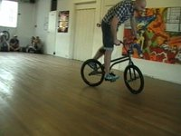 UK BMX Flatland Battle Leicester 30/10/10 Pro Class
