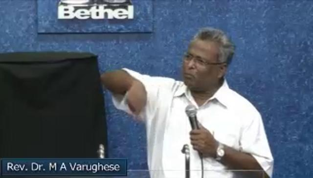Fasting Prayer Day 5 - M A Varughese