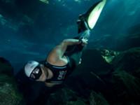 World record Freediver Carlos Coste