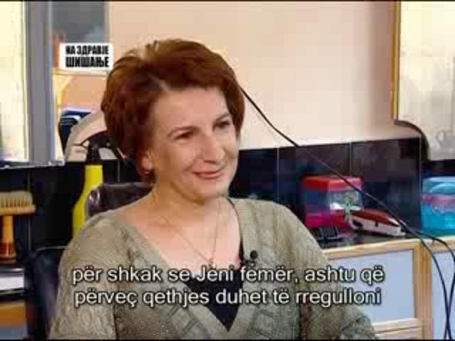 Teuta Arifi - Alsat M, Emisioni: Me shendet Qethja. on Vimeo640