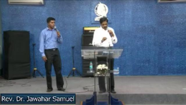 Fasting Prayer Day 8 afternoon - Rev. Dr. Jawahar Samuel