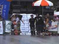 Skate Longboard na Chuva com Christie Aleixo