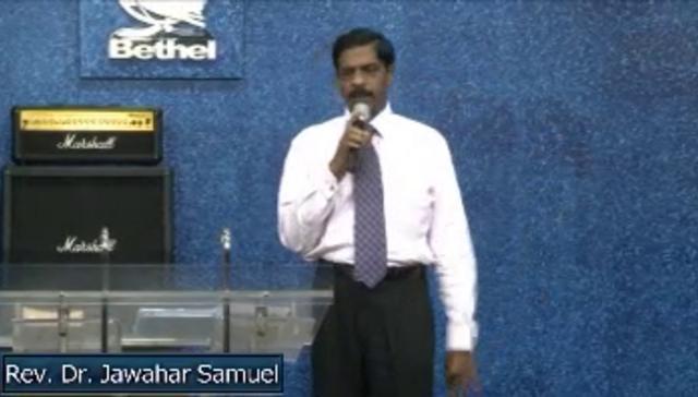 Power Conference Rev. Dr. Jawahar Samuel