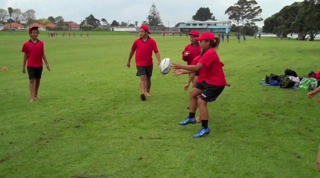 Touch Rugby at Dunkirk Reserve