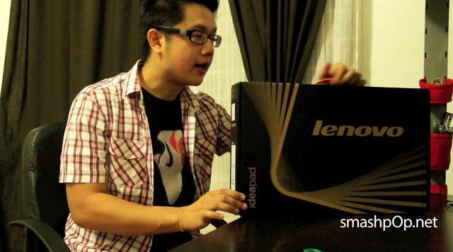 Unboxing Lenovo Ideapad U460
