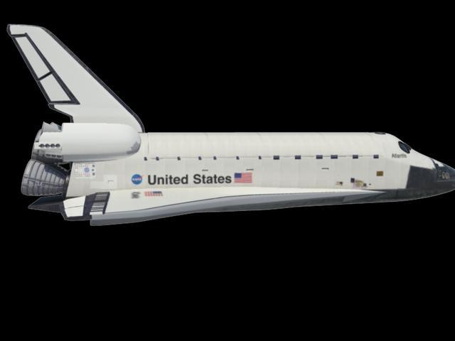 black military space shuttles - photo #46