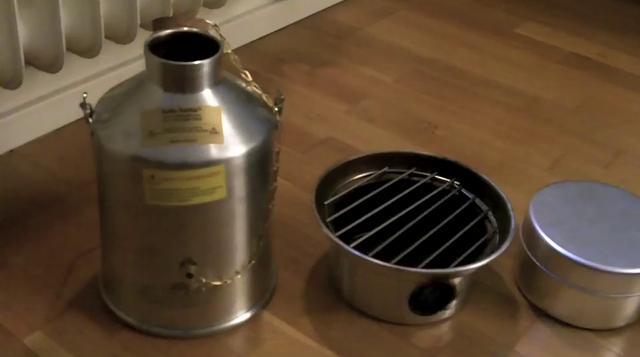 Medium Kelly Kettle Complete Kit With Mug On Vimeo