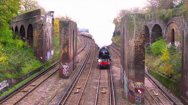 Steam Train in Putney