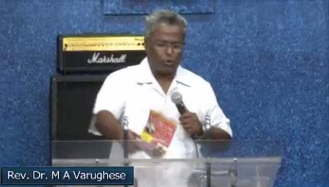 Acts 9:32 by Rev. Dr. M A Varughese