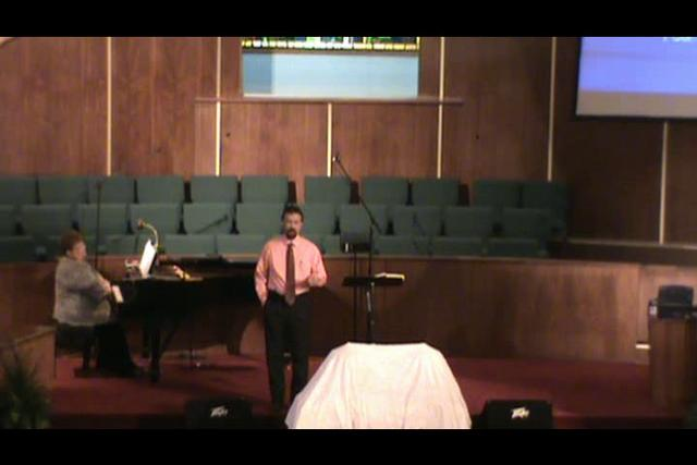 Still image of 10-24-2010 sermon