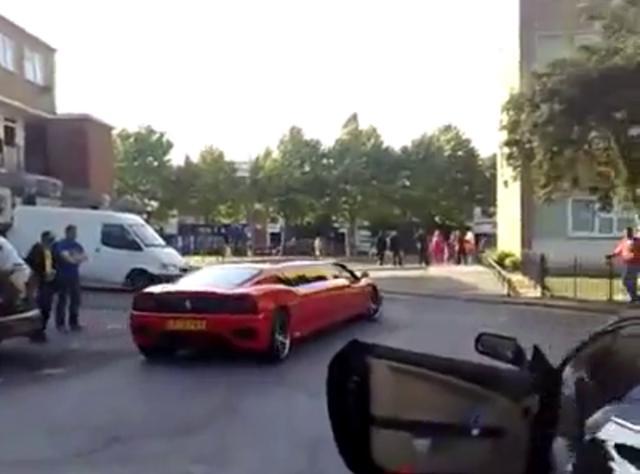 Um Ferrari F360 Limousine On Vimeo