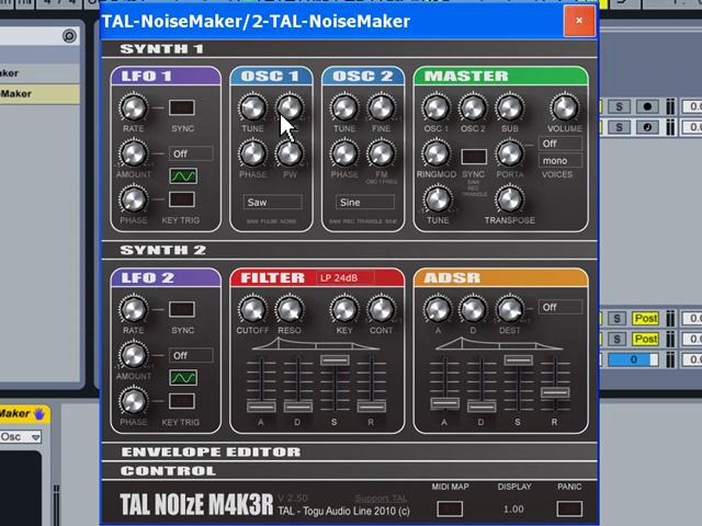 TAL Noisemaker - Synth Drums