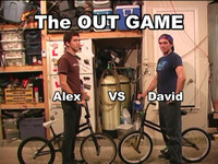 The Game of OUT Alex VS David