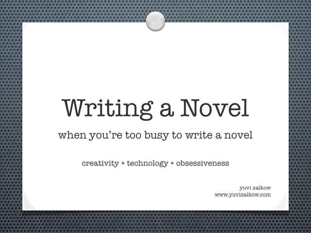 how do you write a screenplay