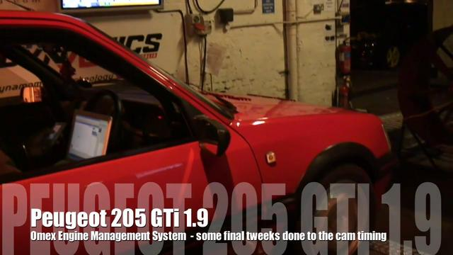 Tuning the Peugeot 205 GTi