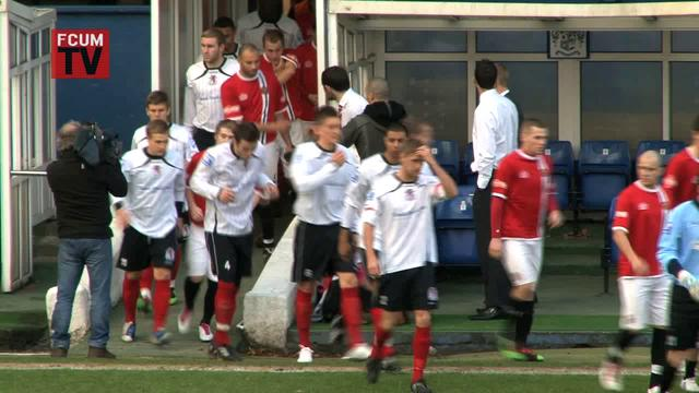 FC United vs Hinckley United FAT 4Q 20/11/10 - Highlights