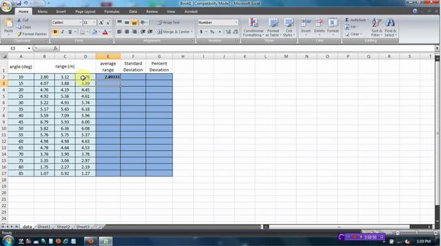 how to make standard deviation graph in excel