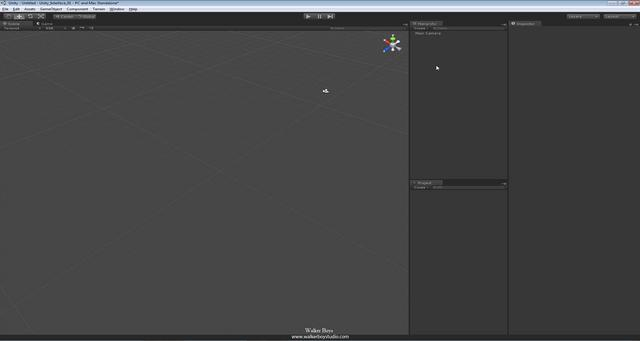 unity app 1 02 interface introduction on Vimeo