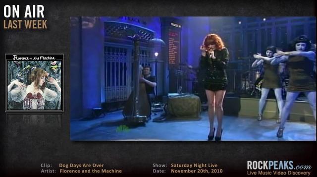 Vlog 019 - Florence + Machine | Sufjan Stevens & Lennon NYC | Metric, BSS &  Jason Collett | Tower of Power | The Eagles