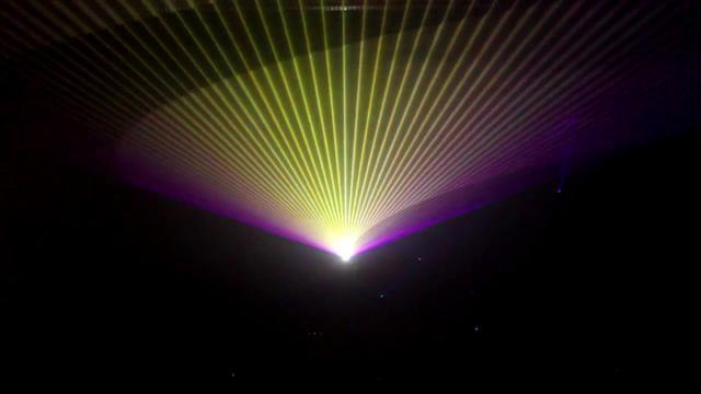 Bochum 2010 Lasershow 2