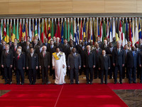 EU-Africa summit: Arrivals and group photo